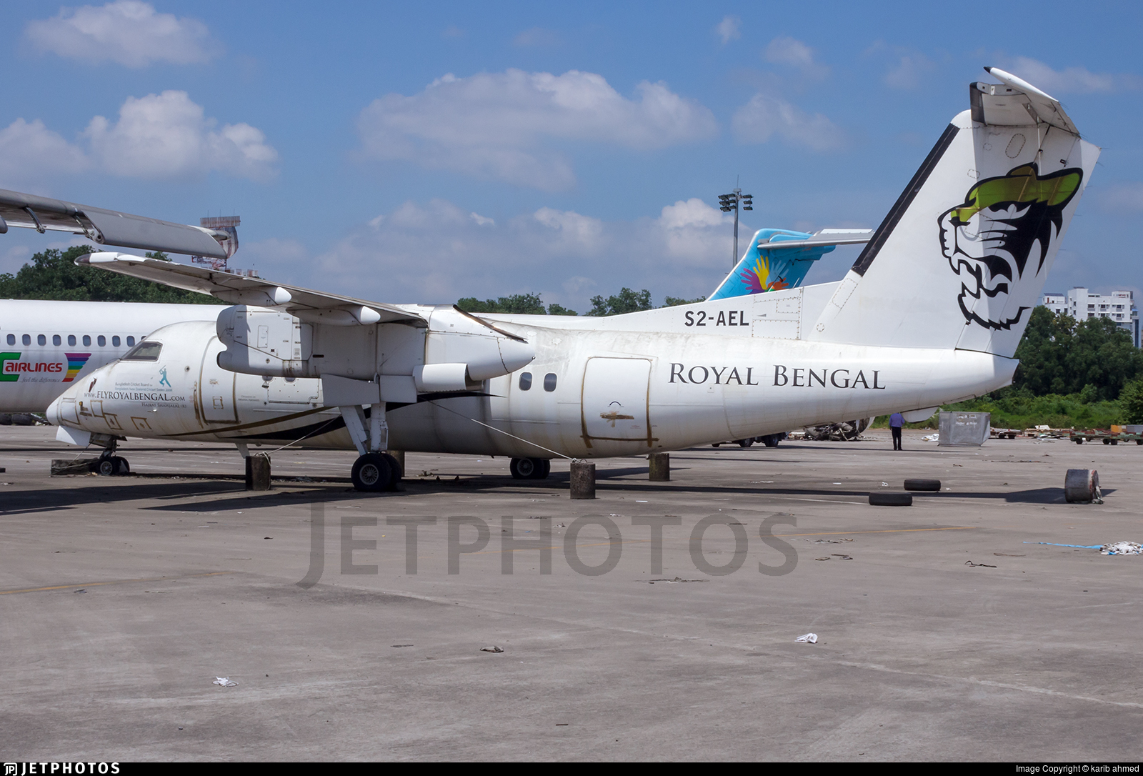 S2-AEL - Bombardier Dash 8-102A - Royal Bengal Airlines