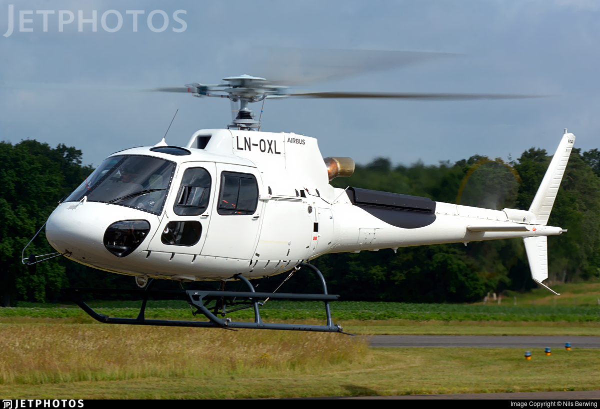 LN-OXL - Airbus Helicopters H125 - Airlift Helicopter