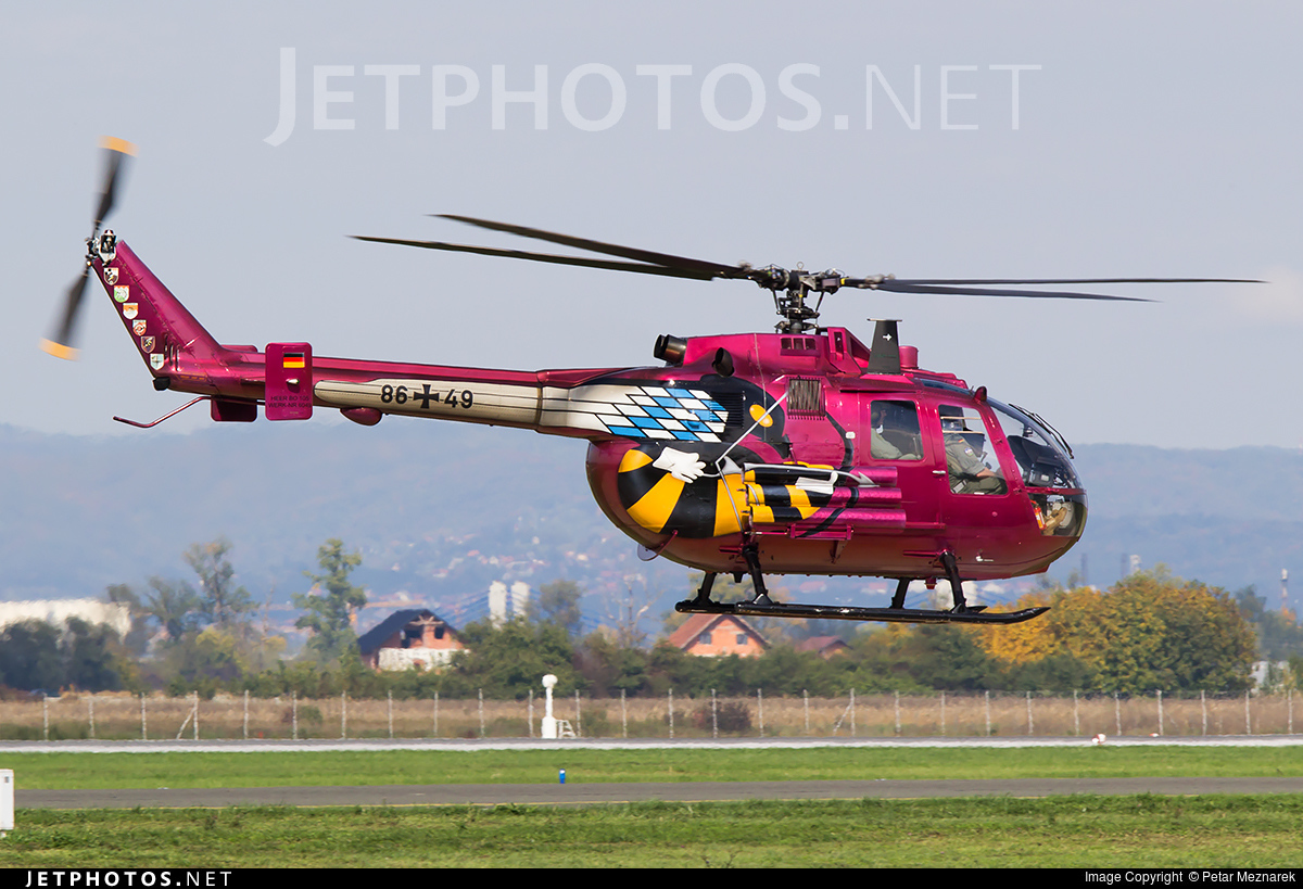 86-49 - MBB Bo105P1 - Germany - Army