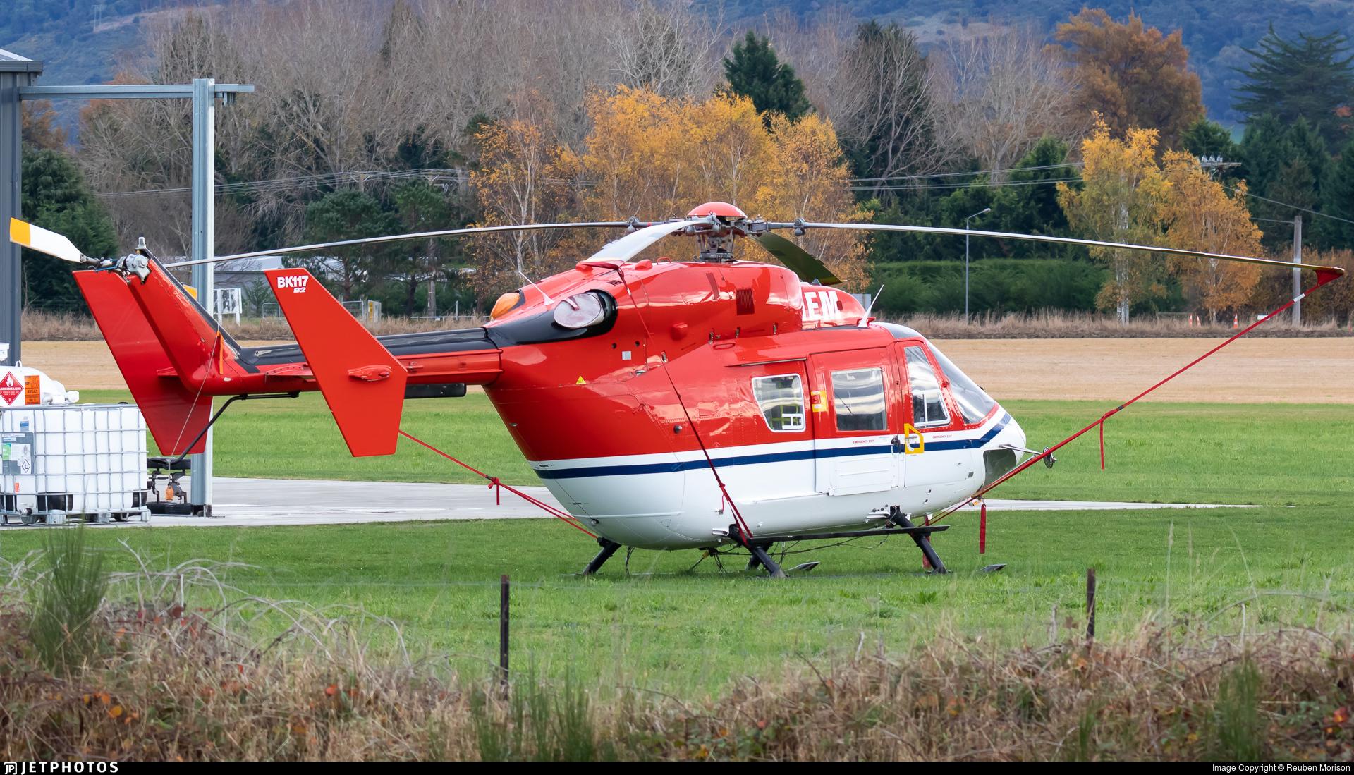 ZK-HEM - MBB-Kawasaki BK117B-2 - Helicopters Otago