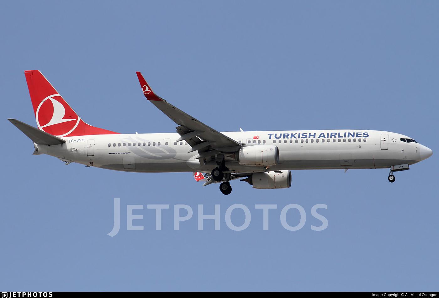 TC-JYH - Boeing 737-9F2ER - Turkish Airlines