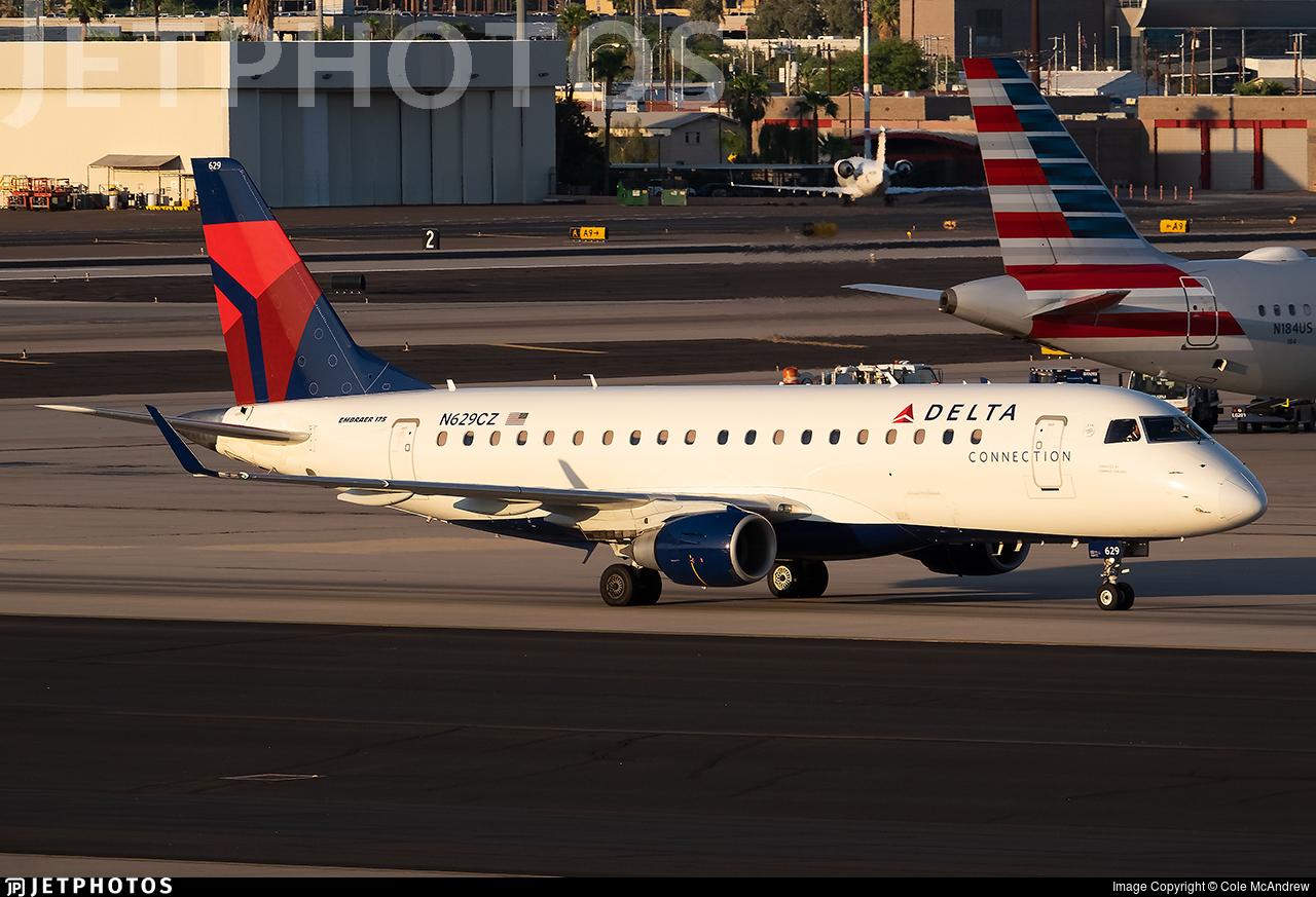 N629CZ - Embraer 170-200LR - Delta Connection (Compass Airlines)