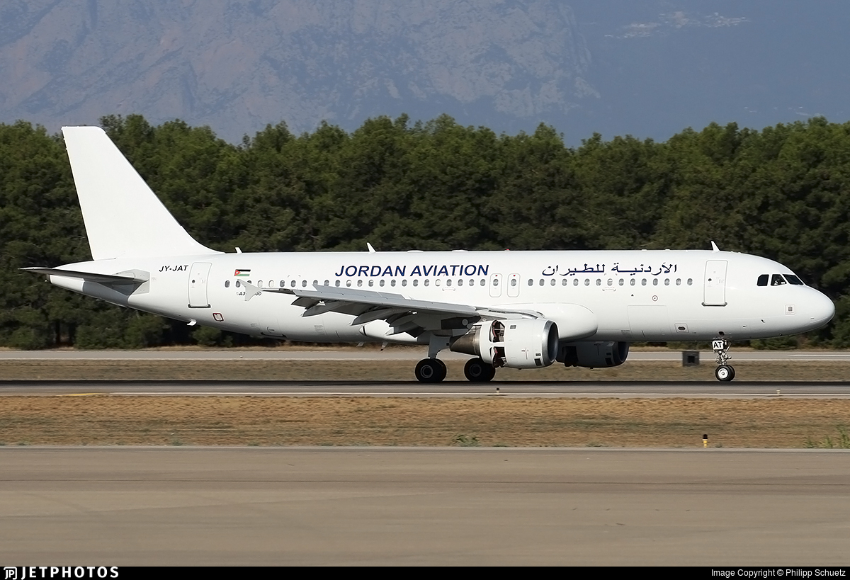 JY-JAT - Airbus A320-211 - Jordan Aviation