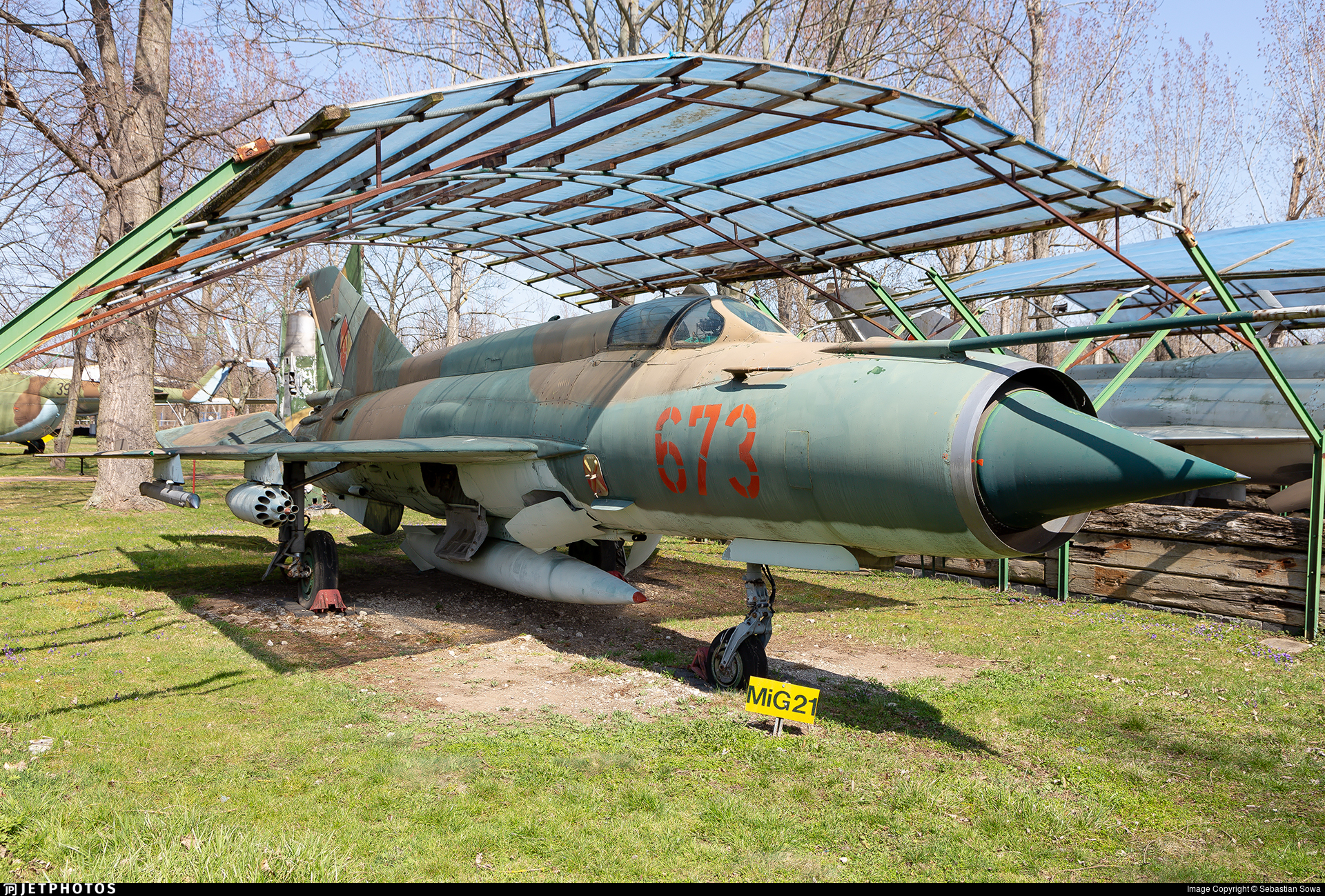 673 - Mikoyan-Gurevich MiG-21MF Lancer C - German Democratic Republic - Air Force