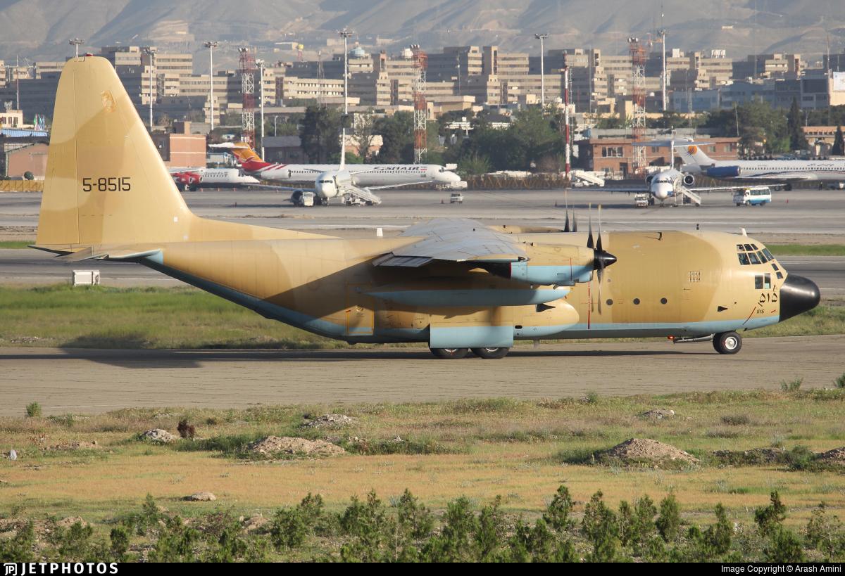 5-8515 - Lockheed C-130E Hercules - Iran - Air Force