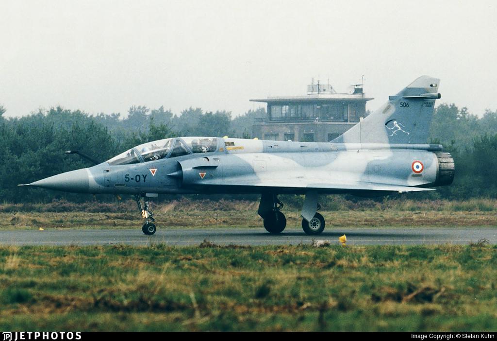 506 - Dassault Mirage 2000B - France - Air Force