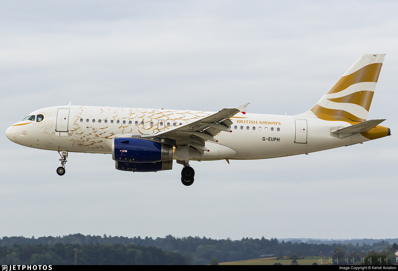 G-EUPH - Airbus A319-131 - British Airways