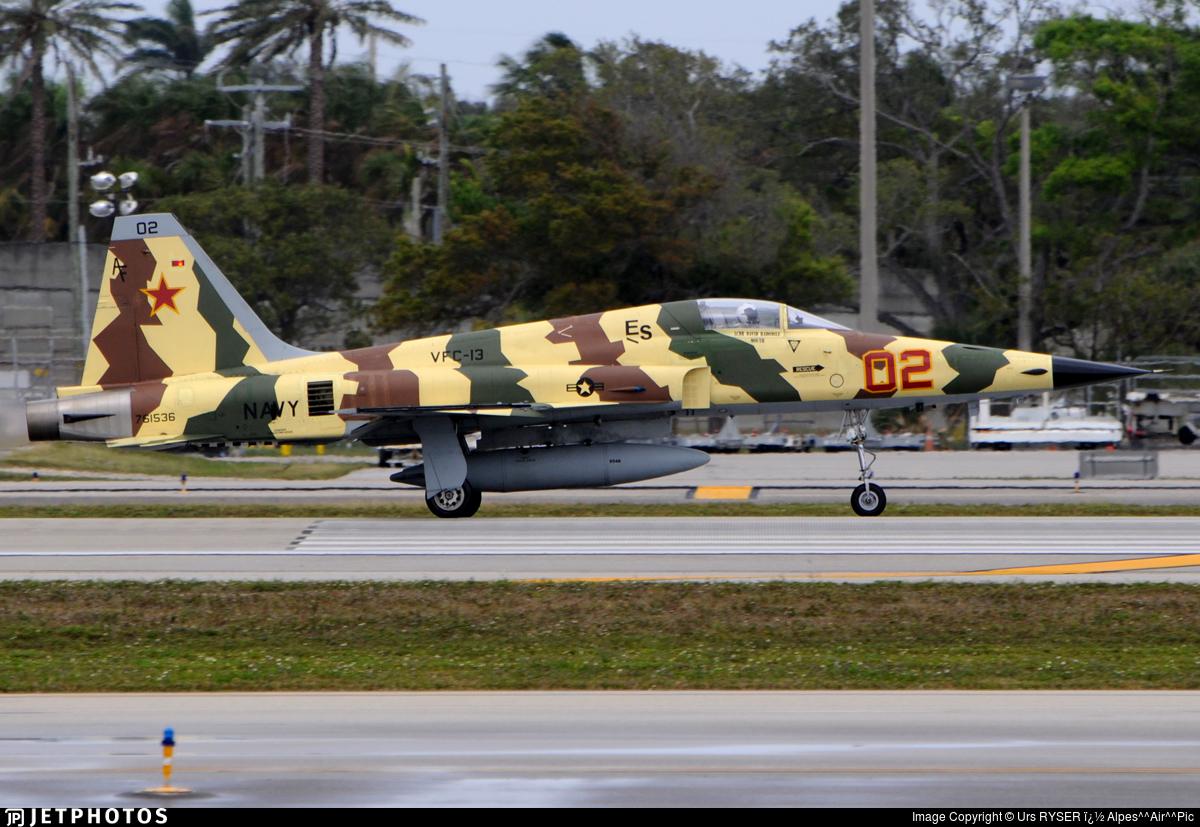 761536 - Northrop F-5N Tiger II - United States - US Navy (USN)