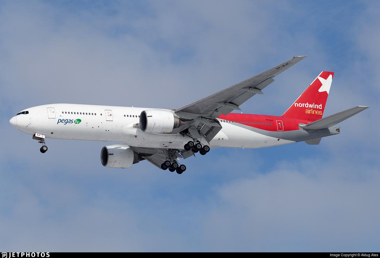 VP-BJF - Boeing 777-21B(ER) - Ikar