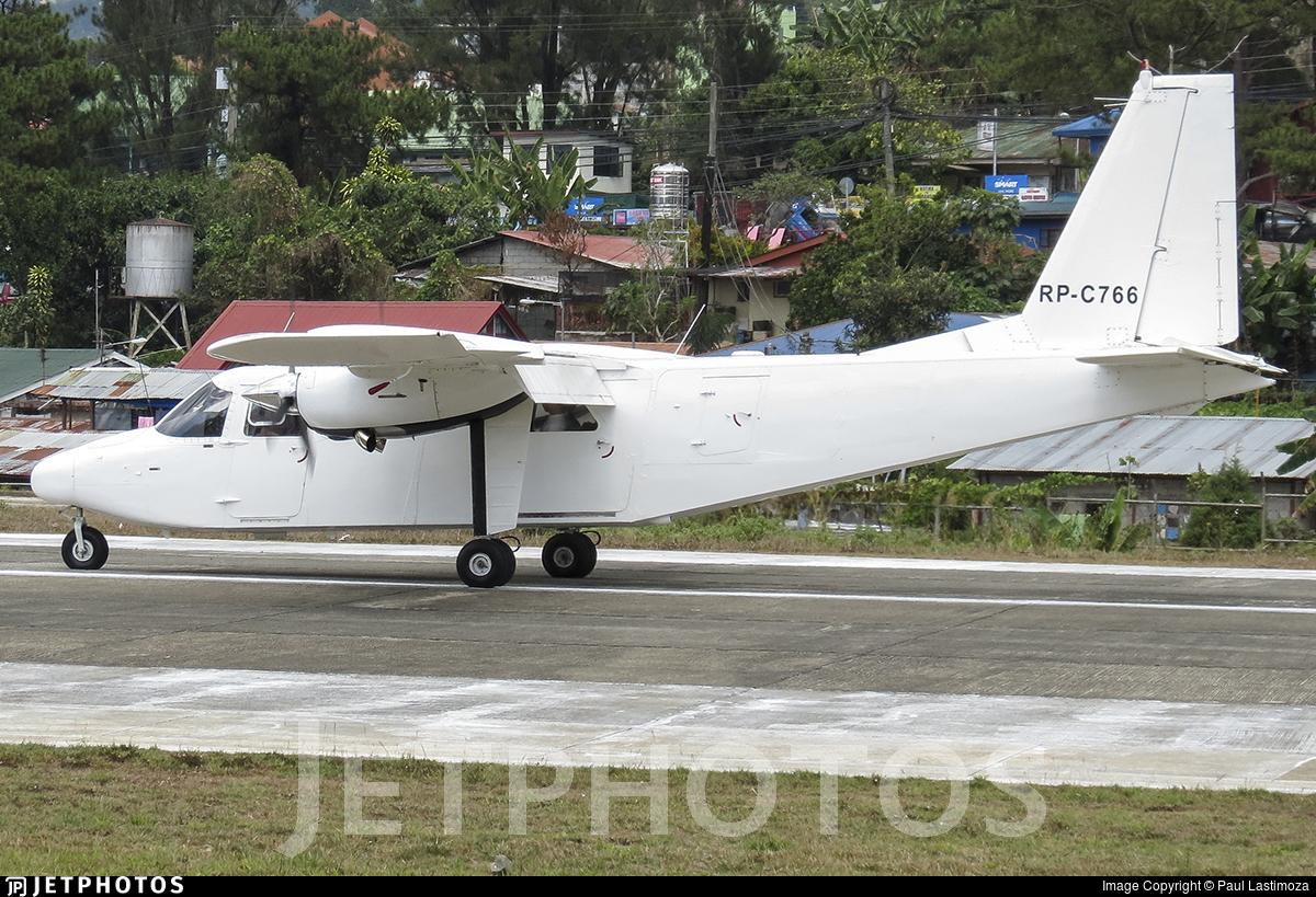 RP-C766 - Britten-Norman BN-2T Turbine Islander - Private