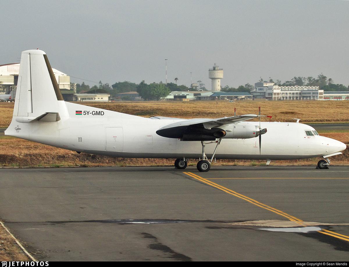 5Y-GMD - Fokker F27-500F Friendship - Aerospace Consortium