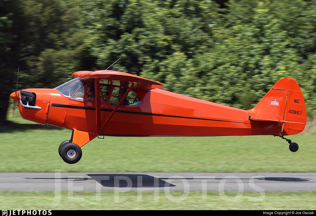N40867 - Piper J-5A Cub Cruiser - Private