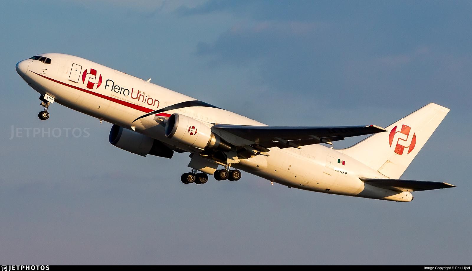 XA-EFR | Boeing 767-241(ER)(BDSF) | AeroUnión