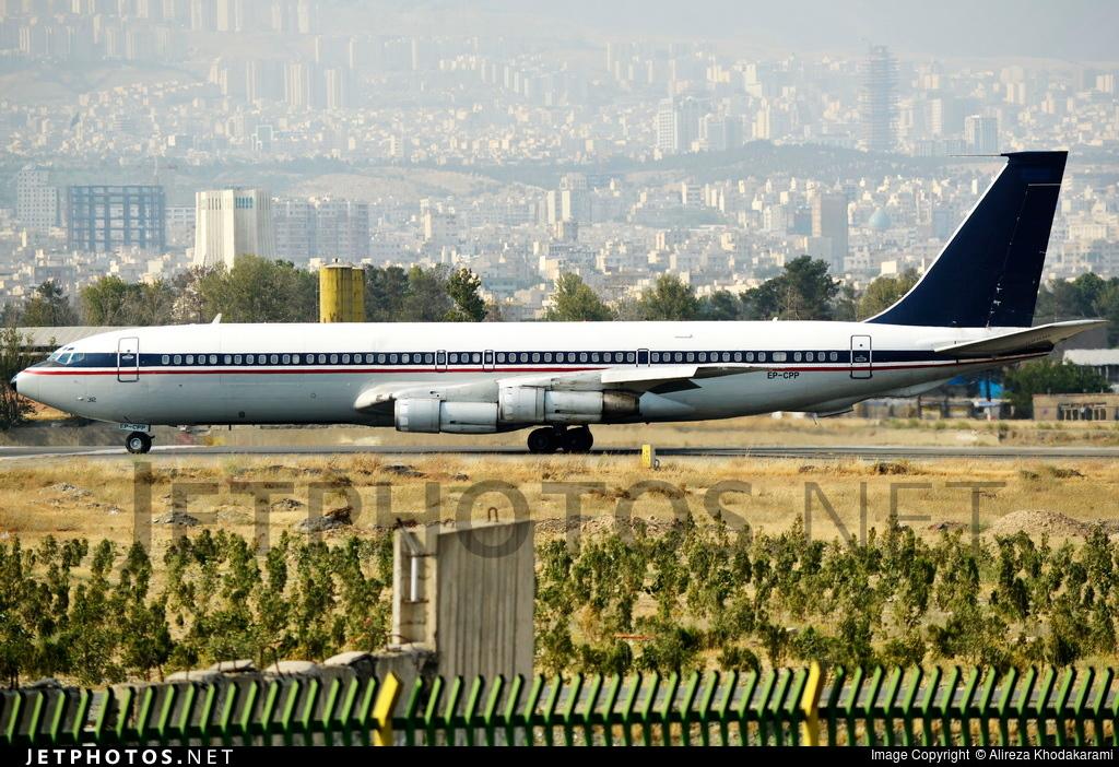 EP-CPP - Boeing 707-3J9C - Saha Air