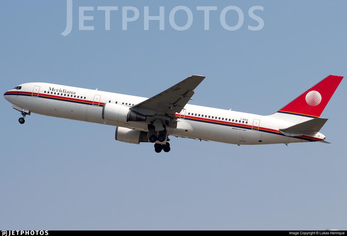 I-AIGG - Boeing 767-304(ER) - Meridiana