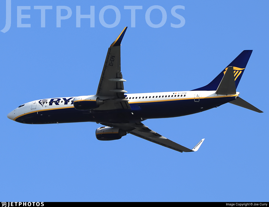 EI-EPA - Boeing 737-8AS - Ryanair
