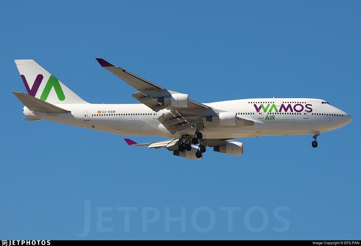 EC-KSM - Boeing 747-412 - Wamos Air