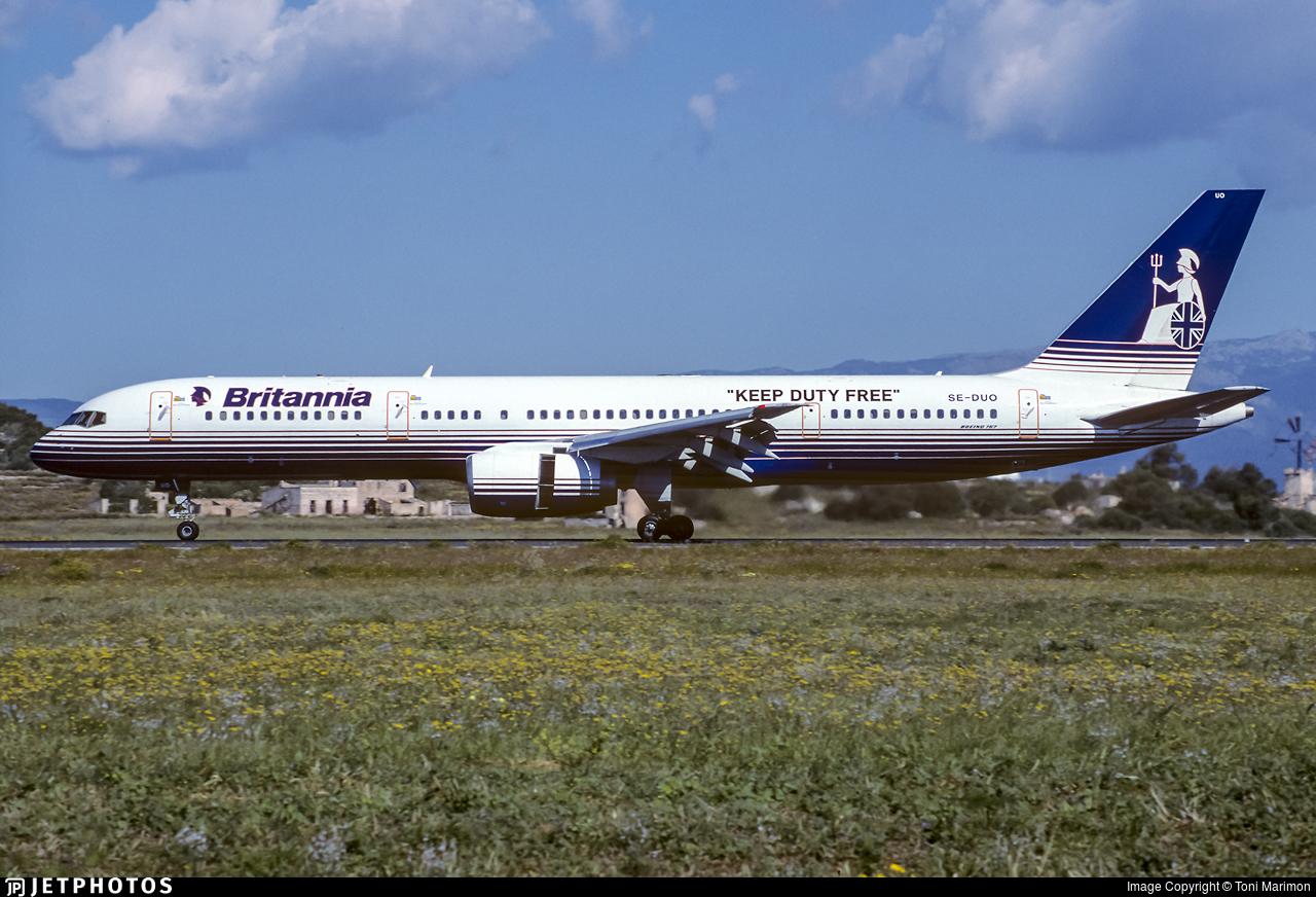 SE-DUO - Boeing 757-236 - Britannia Airways AB