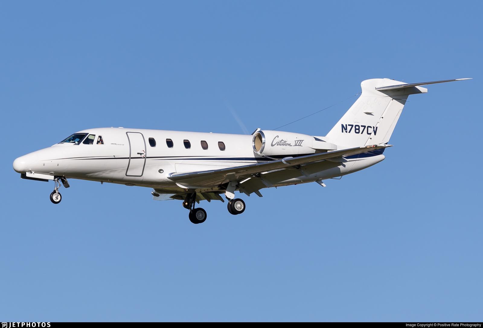 N787CV - Cessna 650 Citation VII - Private