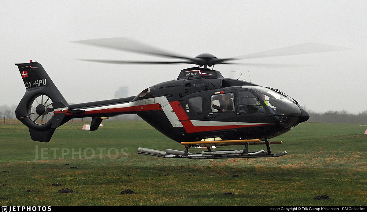 OY-HPU - Eurocopter EC 135T2+ - KN Helicopters