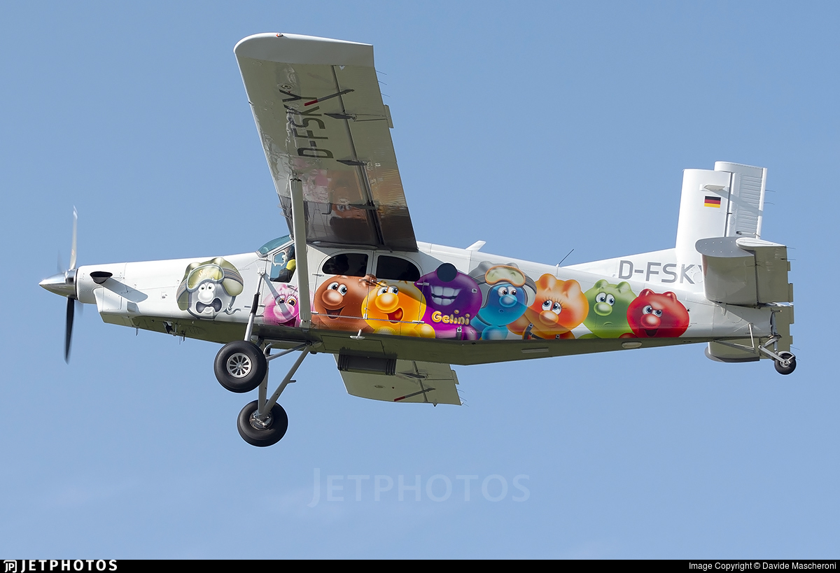 D-FSKY - Pilatus PC-6/B2-H4 Turbo Porter - Private
