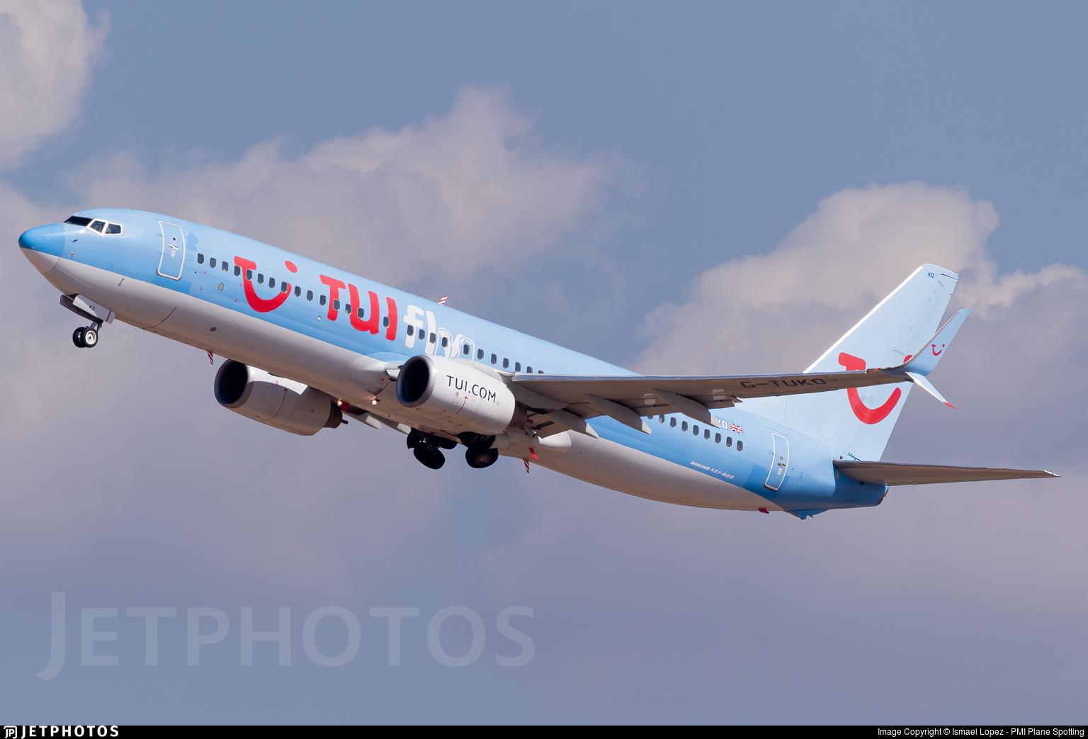 G-TUKO - Boeing 737-8K5 - TUI