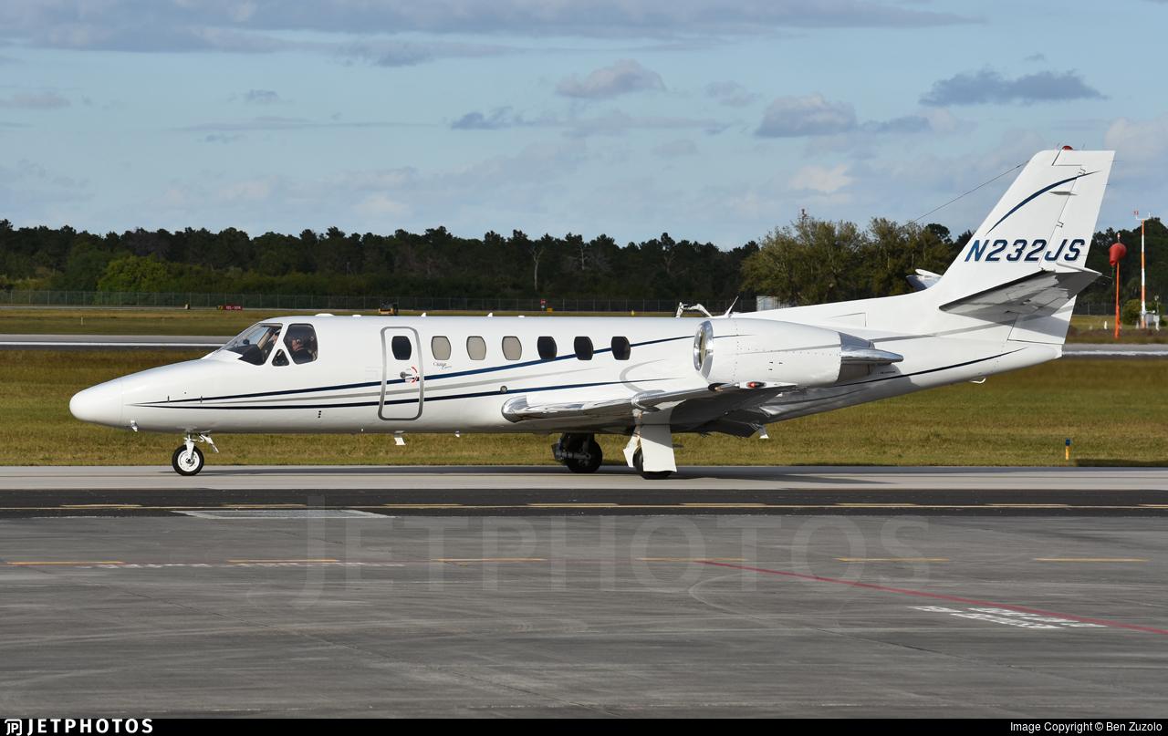 N232JS - Cessna 560 Citation Encore - Private