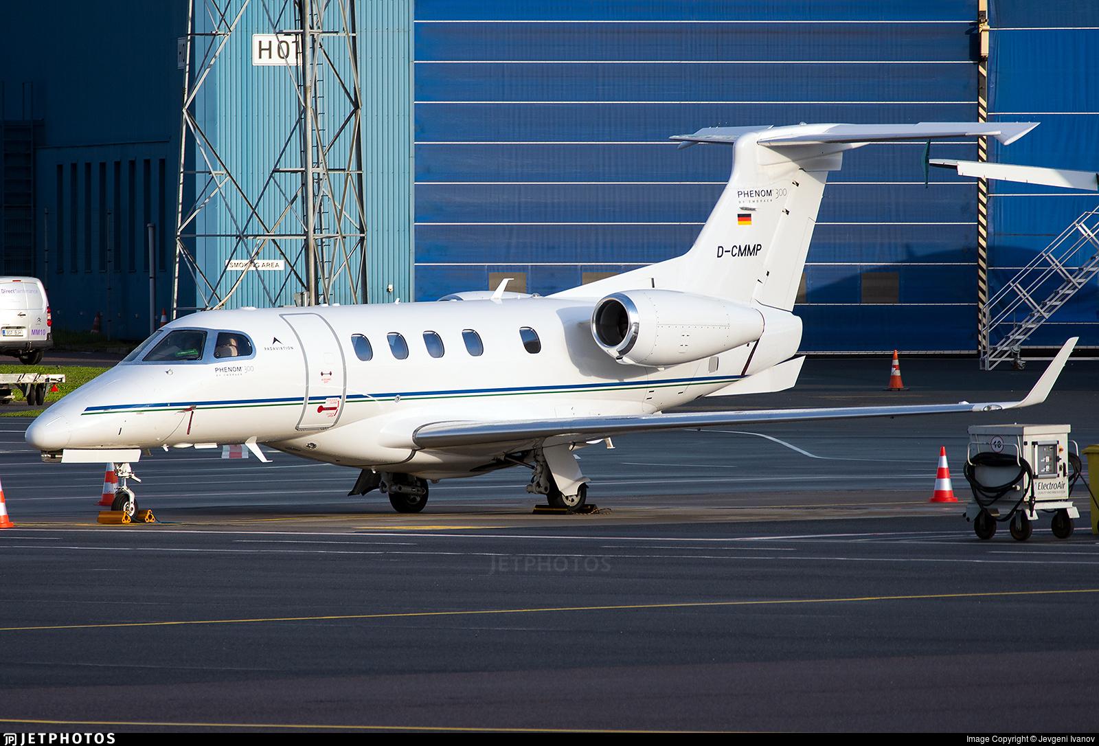 D-CMMP - Embraer 505 Phenom 300 - Padaviation