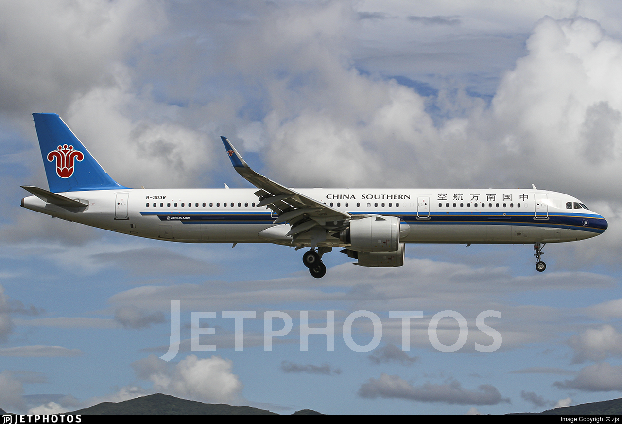 B-303W - Airbus A321-271N - China Southern Airlines