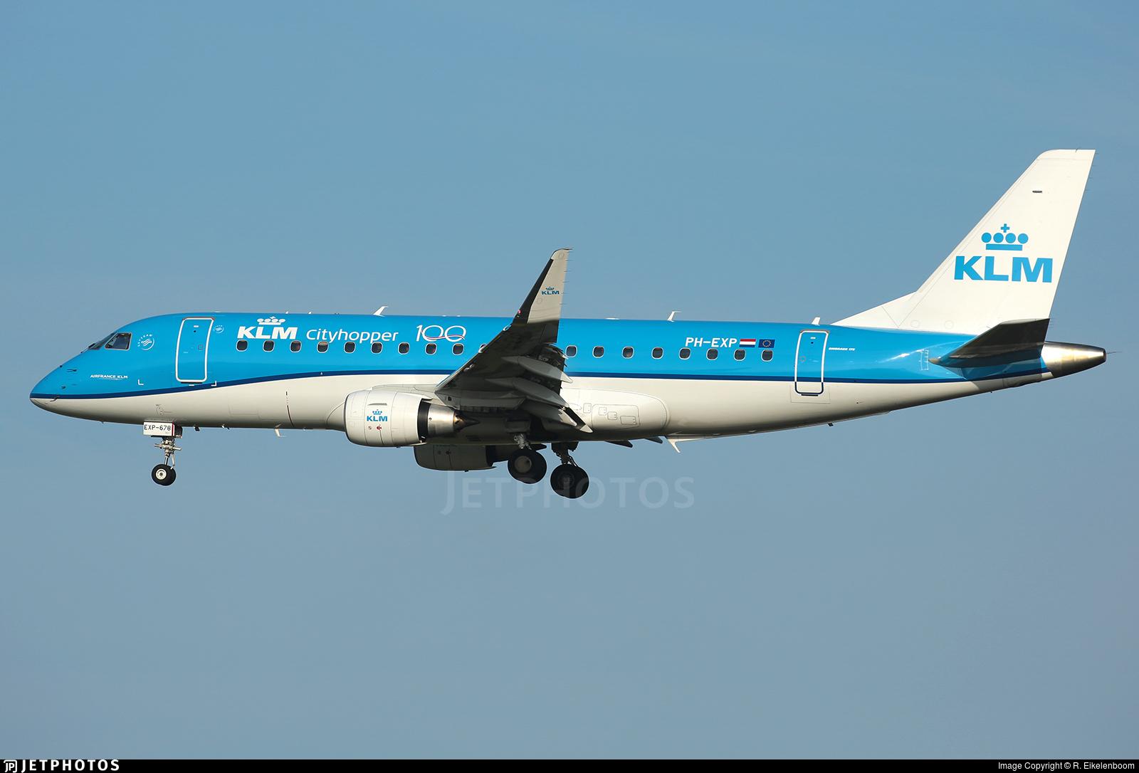 PH-EXP - Embraer 170-200STD - KLM Cityhopper