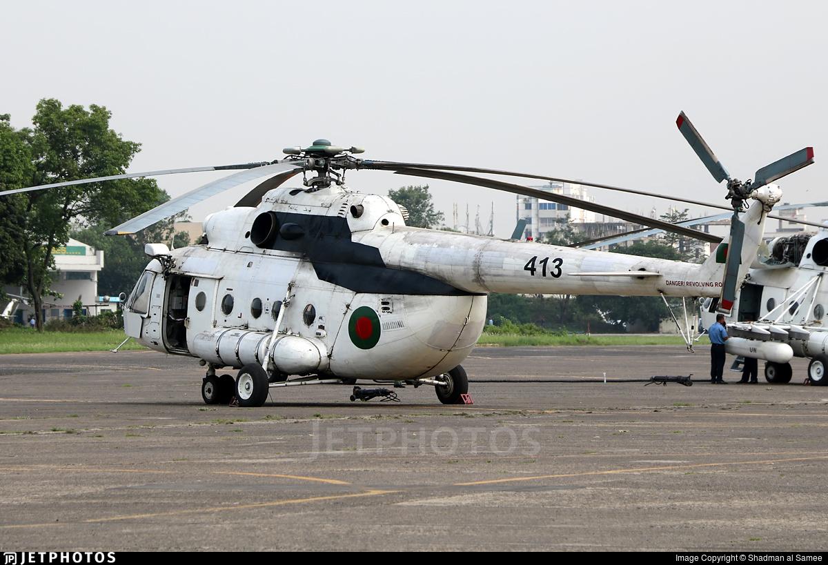 413 - Mil Mi-17 Hip - Bangladesh - Air Force