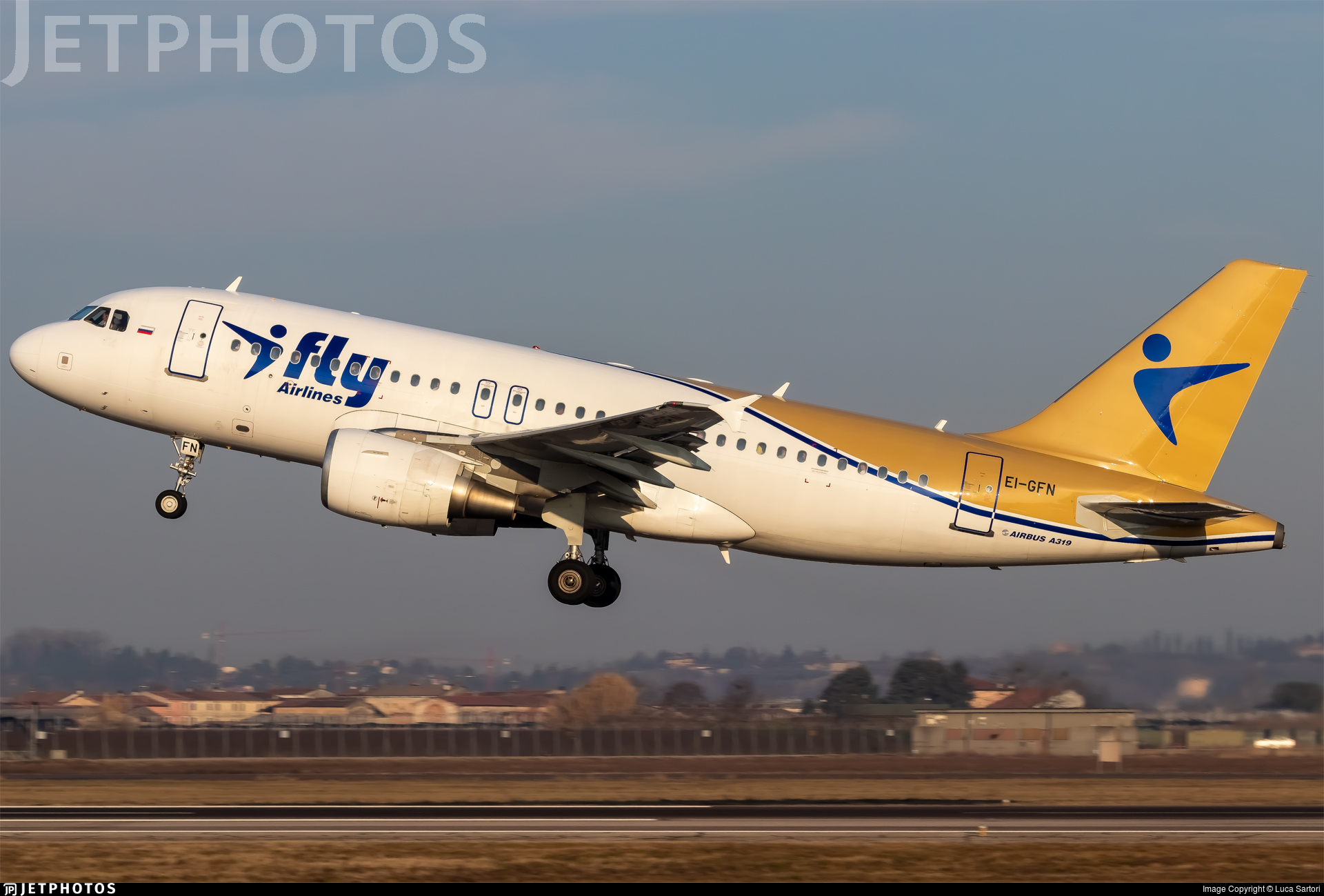 EI-GFN - Airbus A319-112 - I-Fly Airlines
