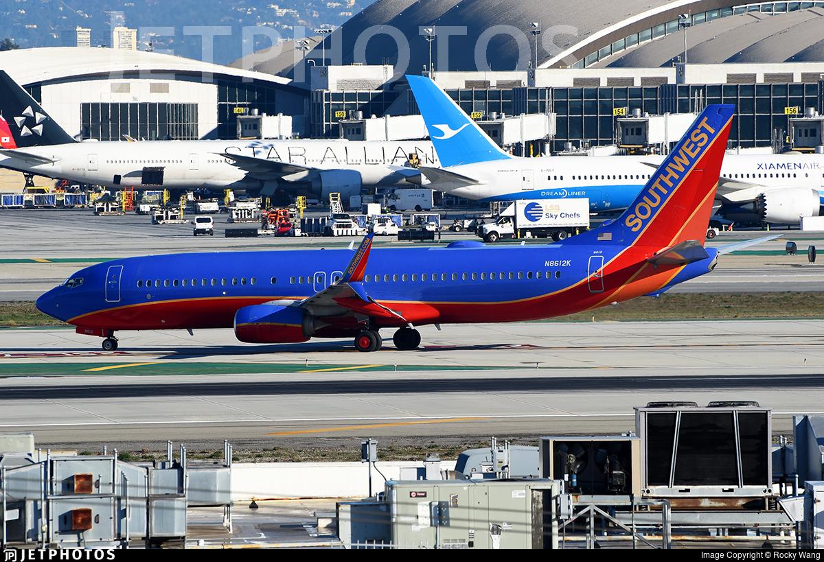 N8612K - Boeing 737-8H4 - Southwest Airlines