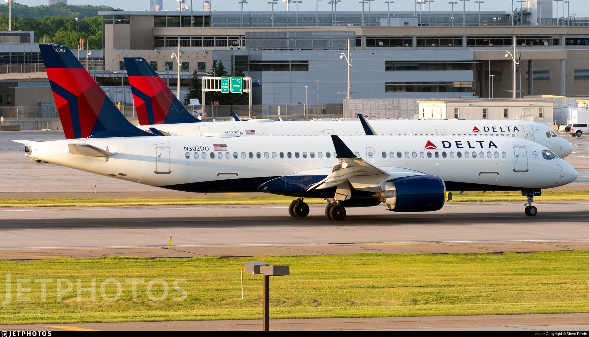 N302DU - Airbus A220-371 - Delta Air Lines