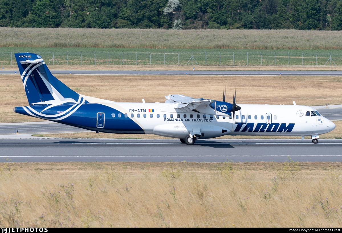 YR-ATM - ATR 72-212A(600) - Tarom - Romanian Air Transport