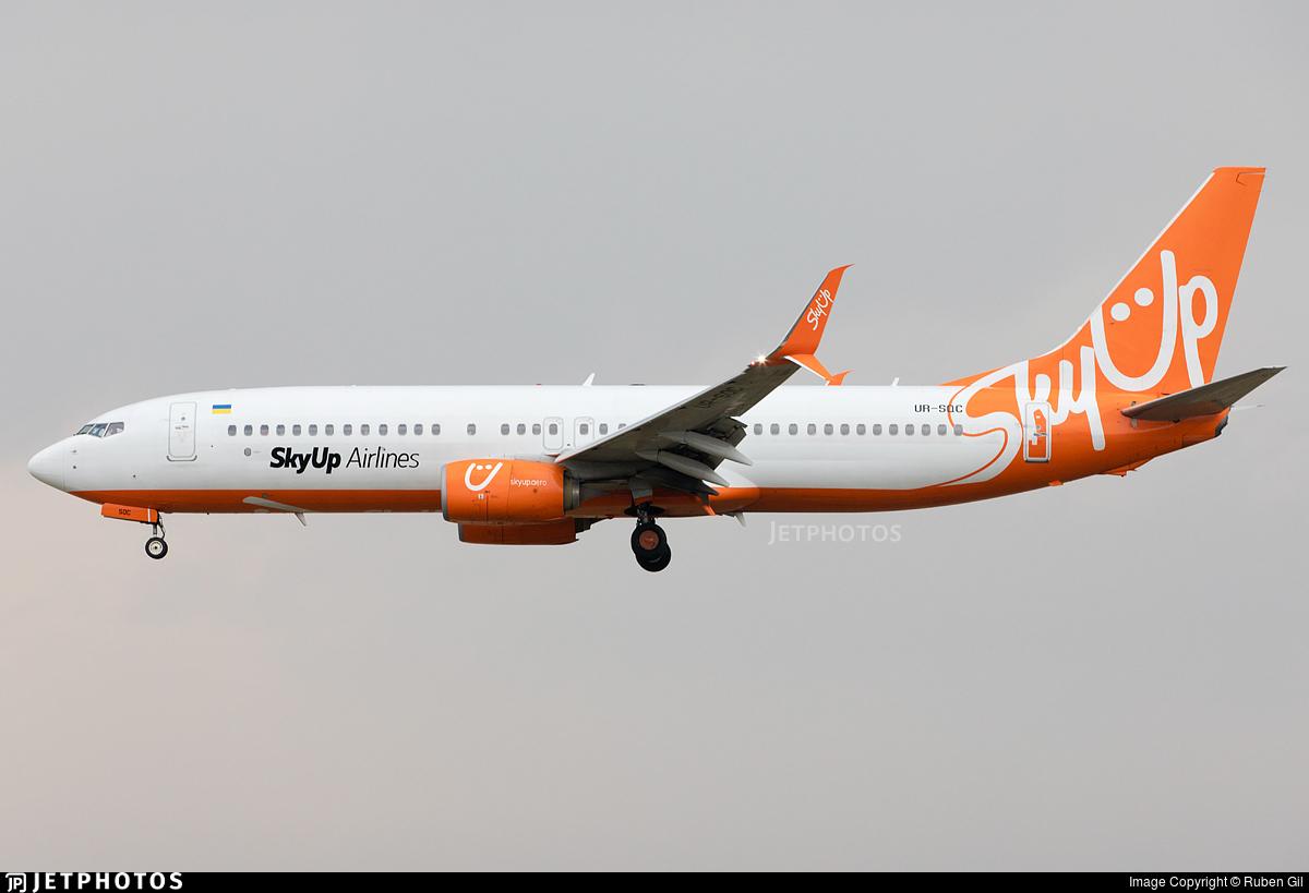 UR-SQC - Boeing 737-8H6 - SkyUp Airlines