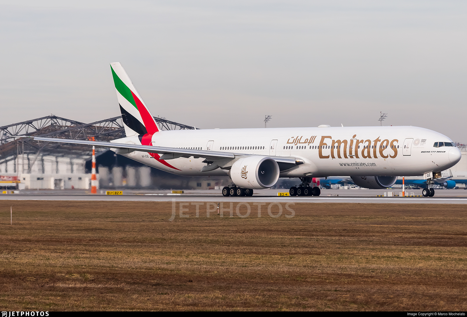 A6-EQE - Boeing 777-31HER - Emirates