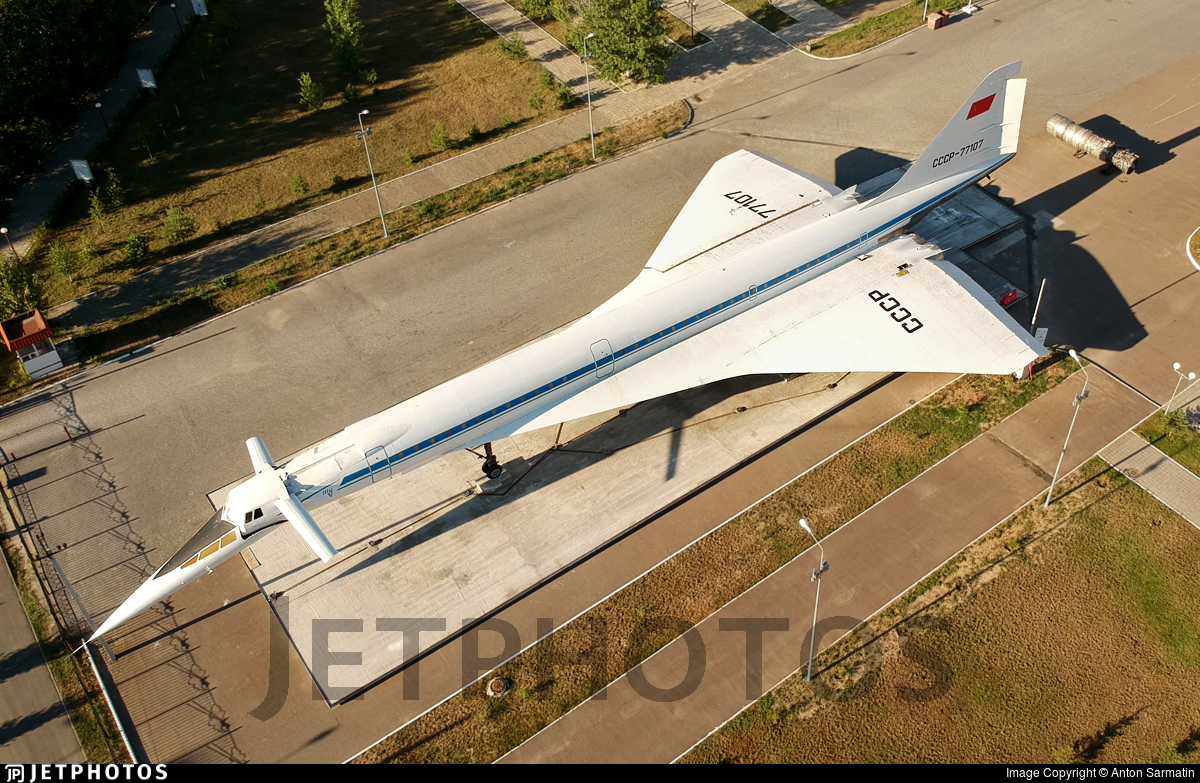CCCP-77107 - Tupolev Tu-144 - Tupolev Design Bureau