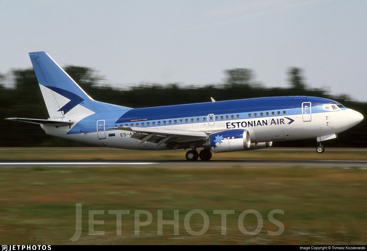 ES-ABD - Boeing 737-5Q8 - Estonian Air