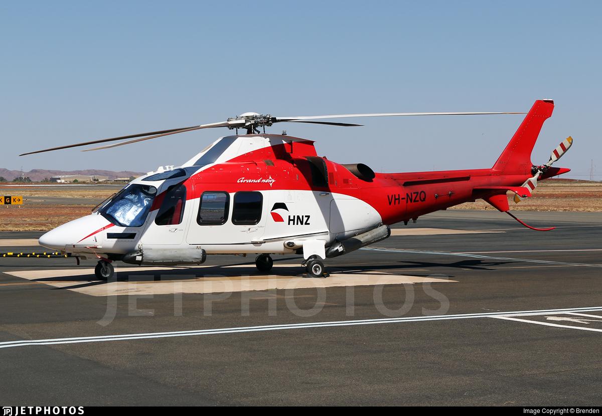 VH-NZQ - Agusta-Westland AW-109SP GrandNew - Helicopters NZ