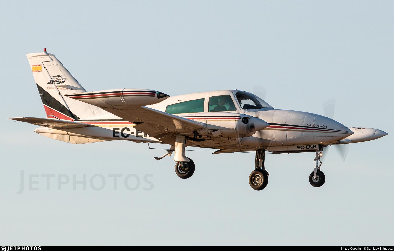 EC-ENH - Cessna T310R - Servicios Politécnicos Aéreos - SPASA