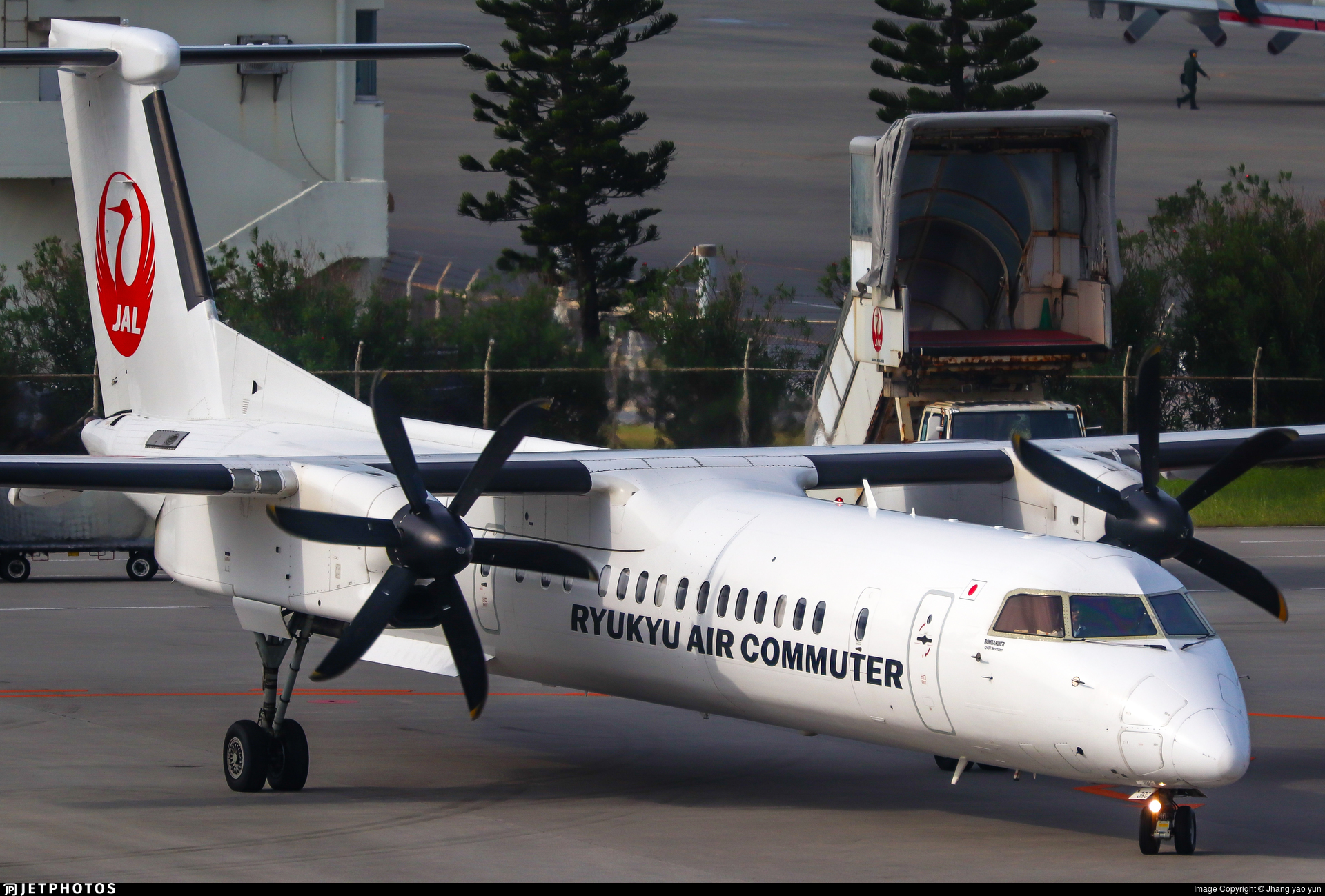 JA83RC - Bombardier Dash 8-Q402C - Ryukyu Air Commuter (RAC)