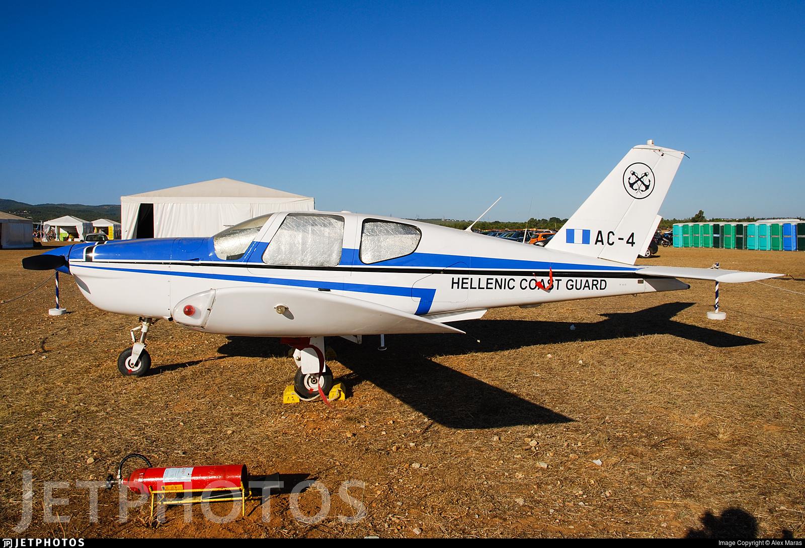 AC-4 - Socata TB-20 Trinidad - Greece - Coast Guard