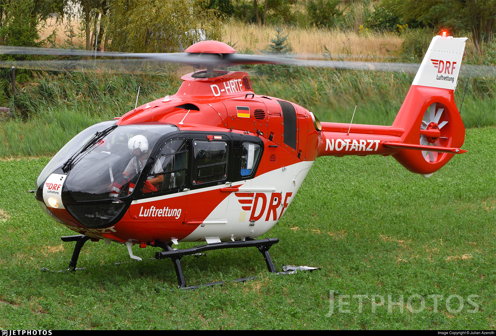 D-HRTF - Airbus Helicopters H135 - DRF Luftrettung