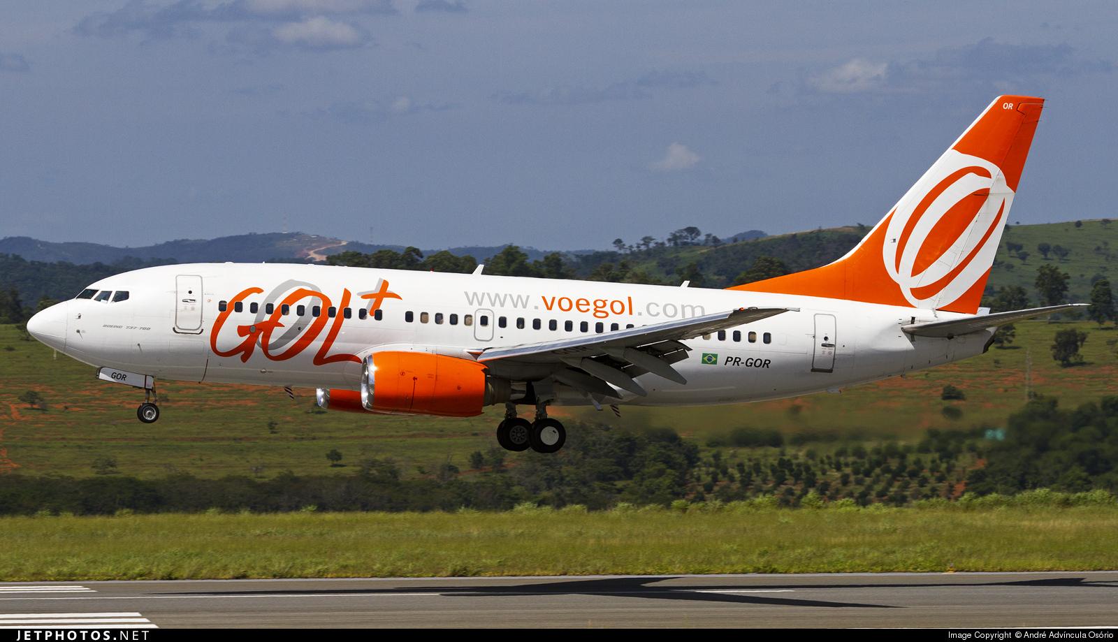 PR-GOR - Boeing 737-76N - GOL Linhas Aéreas