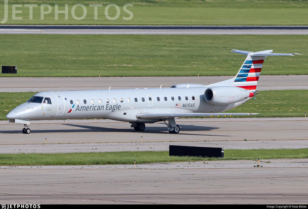 N615AE - Embraer ERJ-145LR - American Eagle (Envoy Air)