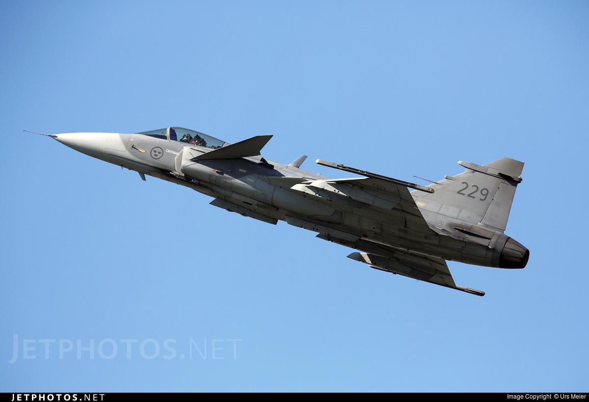 39229 | Saab JAS-39C Gripen | Sweden - Air Force | Urs Meier | JetPhotos