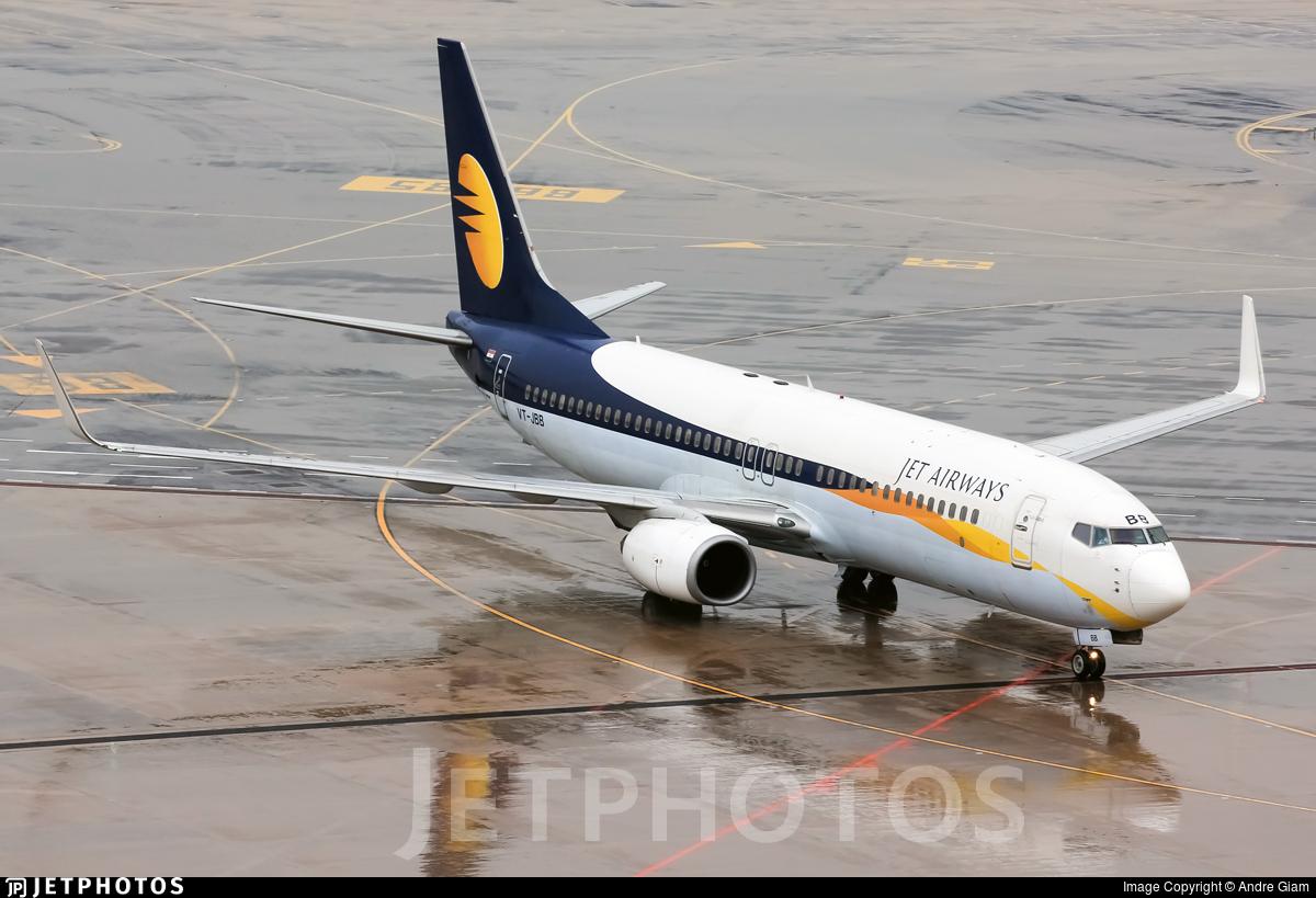 VT-JBB - Boeing 737-8HX - Jet Airways