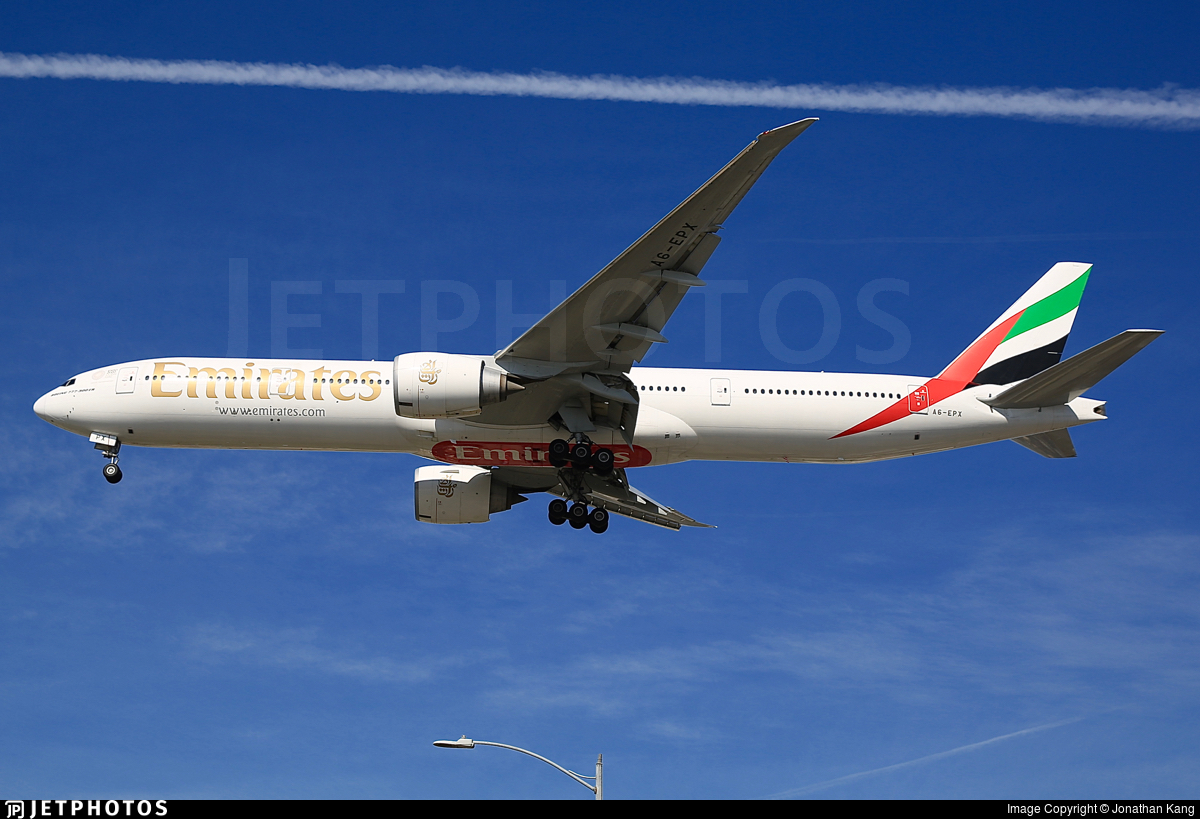 A6-EPX - Boeing 777-31HER - Emirates