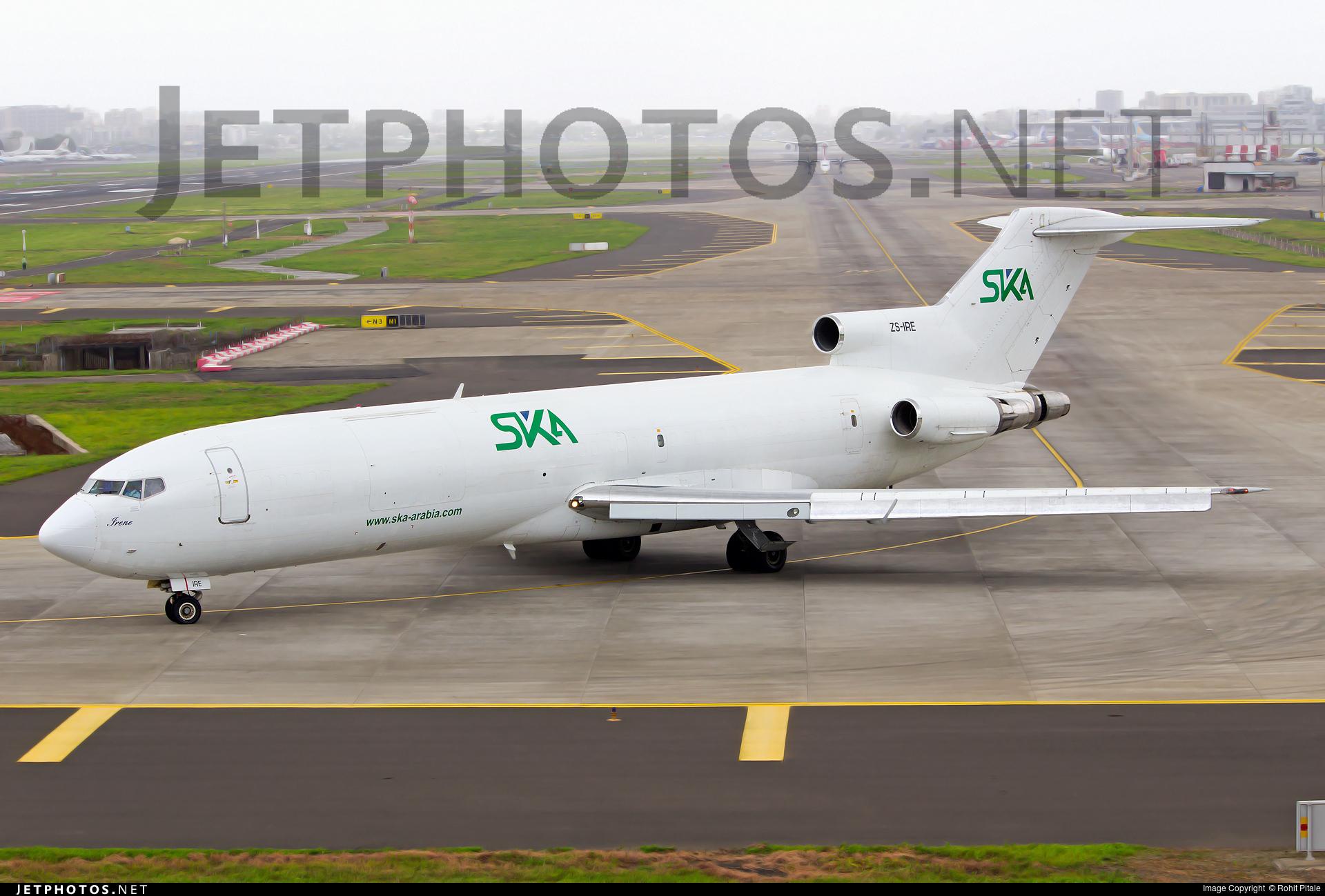 ZS-IRE - Boeing 727-2Q9(Adv)(F) - SKA International Group